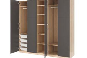 skříň IKEA PAX kyvné dveře